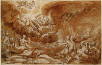 Hendrick Goltzius The Fall of Phaeton
