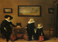 Hendrick Gerritsz. Pot Family Portrait