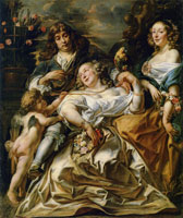 Jacob Jordaens Allegorical Family Portrait