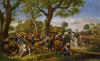 Jan Steen The Fair at Warmond