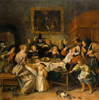 Jan Steen Twelfth Night