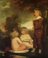 John Hoppner The Hoppner Children