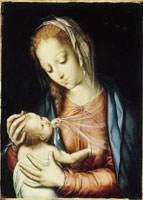 Luis de Morales The Virgin and Child