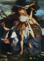 Orazio Gentileschi David and Goliath