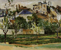 Paul Cézanne The garden of Maubuisson