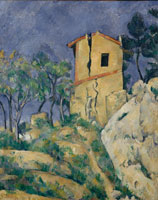 Paul Cézanne The House with the Cracked Walls