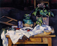 Paul Cézanne Kitchen Table