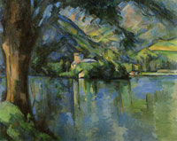 Paul Cézanne The Lac d'Annecy