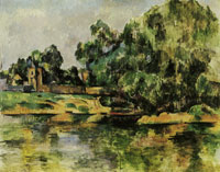 Paul Cézanne Riverbank