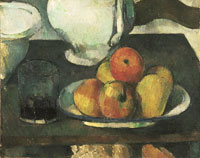 Paul Cézanne Still Life with Apples and a Glass of Wine