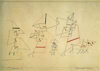 Paul Klee Family Walk