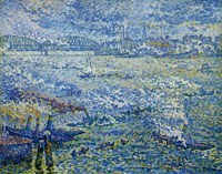 Paul Signac Steamboats, Rotterdam