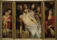 Peter Paul Rubens and Anthony van Dyck The Lamentation Triptych