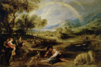 Peter Paul Rubens - Landscape with a Rainbow