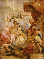 Peter Paul Rubens The Union of the Crowns of England and Scotland