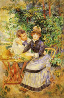 Pierre-Auguste Renoir In the Garden