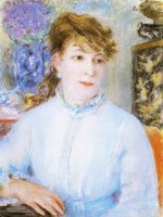 Pierre-Auguste Renoir Portrait of a Woman