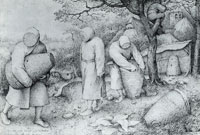 Pieter Bruegel the Elder The beekeepers
