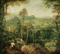 Pieter Bruegel the Elder The magpie on the gallows