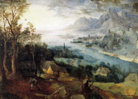Pieter Bruegel the Elder - Landscape with Parable of the Sower