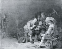 Pieter Symonsz. Potter Soldiers in a guardsroom