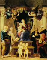 Raphael Madonna of the Baldacchino