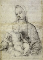 Raphael The Virgin and Child with a Pomegranate