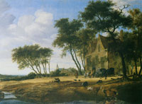 Salomon van Ruysdael The Halt