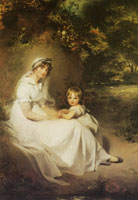 Thomas Lawrence - Lady Templetown and Her Son