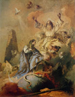 Giovanni Battista Tiepolo Allegory of the Immaculate Conception and of Redemption