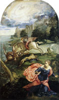 Tintoretto Saint George and the Dragon
