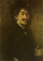James McNeill Whistler Brown and Gold: Self-Portrait
