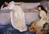 James Abbott McNeill Whistler Symphony in White No. 3