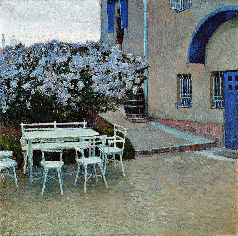 Carl Moll - The Artist's House on the Hohe Warte