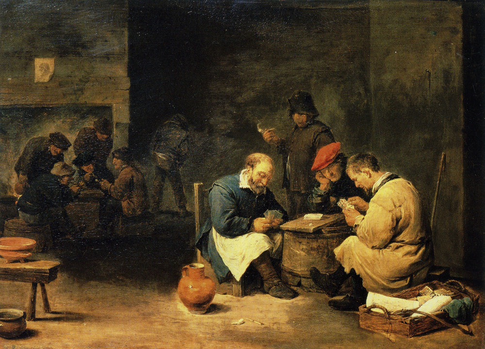 David Teniers the Younger - Card Players