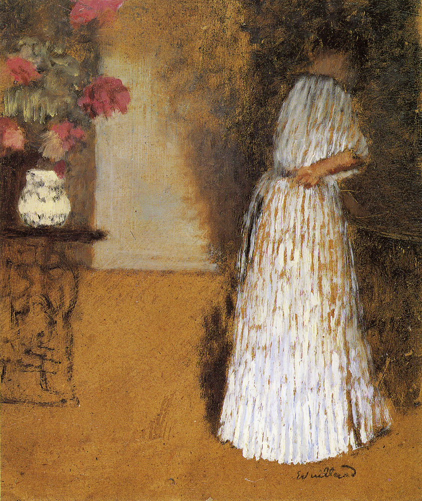 Edouard Vuillard - Young Woman in a Room