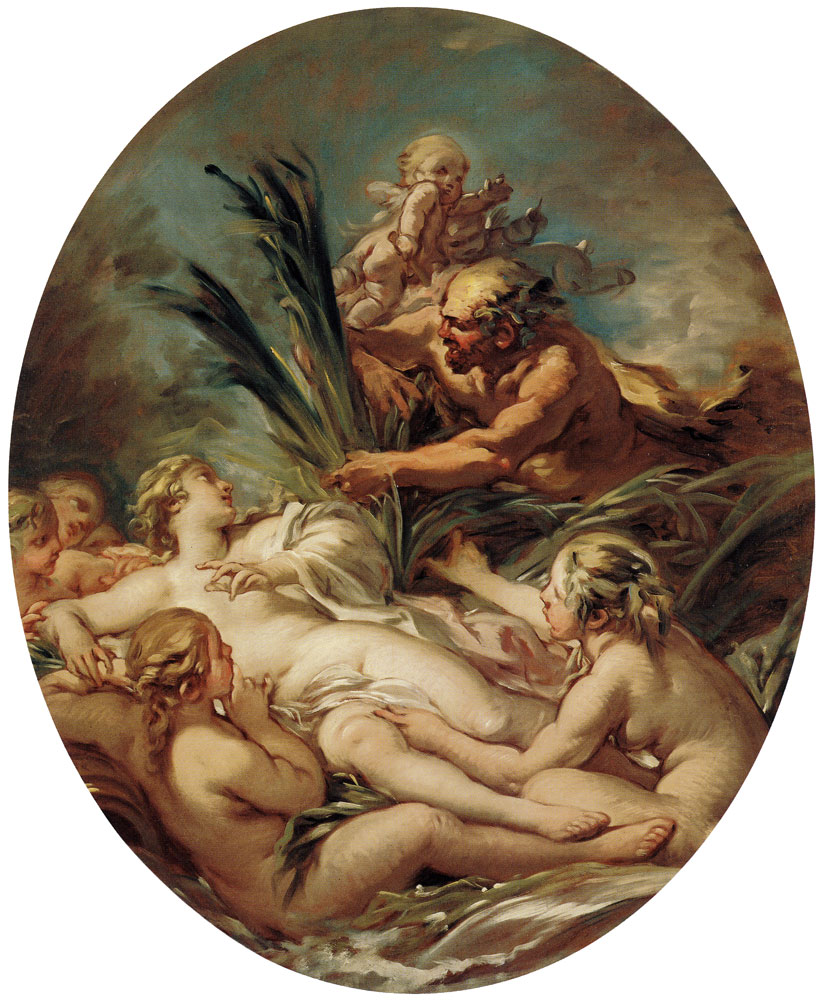 François Boucher - Pan and Pipes