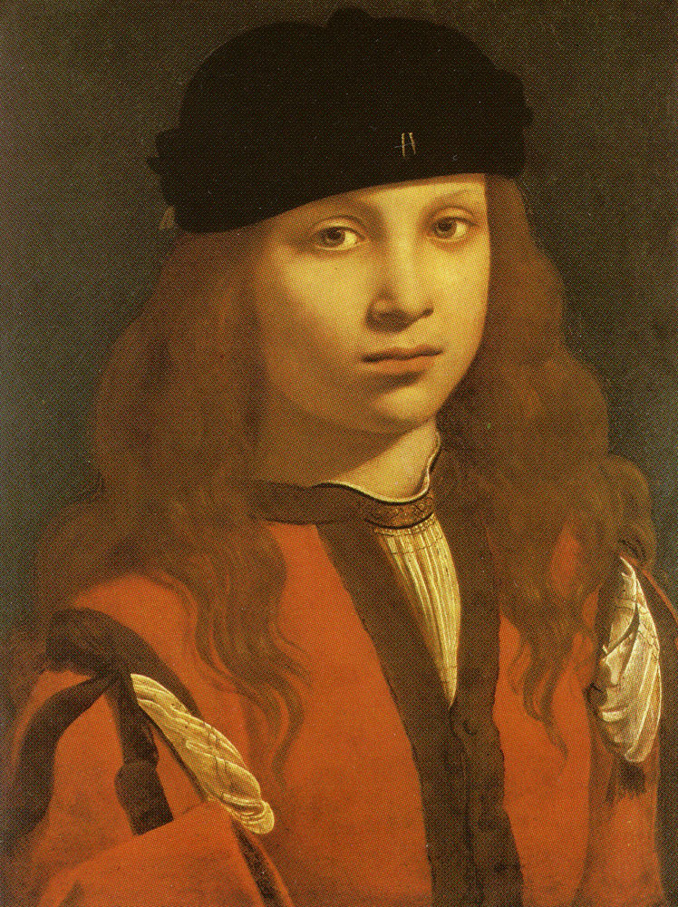 Giovanni Antonio Boltraffio - Portrait of a Youth