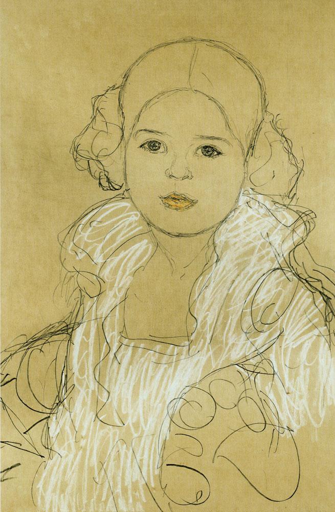 Gustav Klimt Portrait Of Gertrude Fl 246 Ge