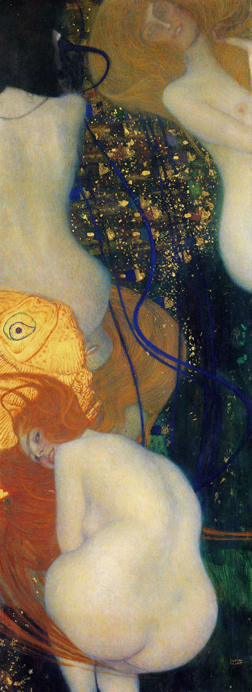 Gustav Klimt Goldfish To My Critics