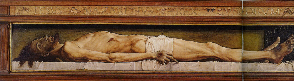 Hans Holbein the Younger - Dead Christ