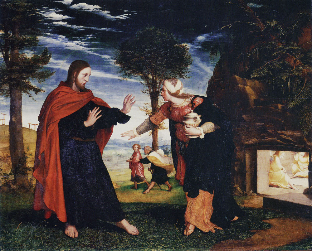 Hans Holbein the Younger - Noli me tangere