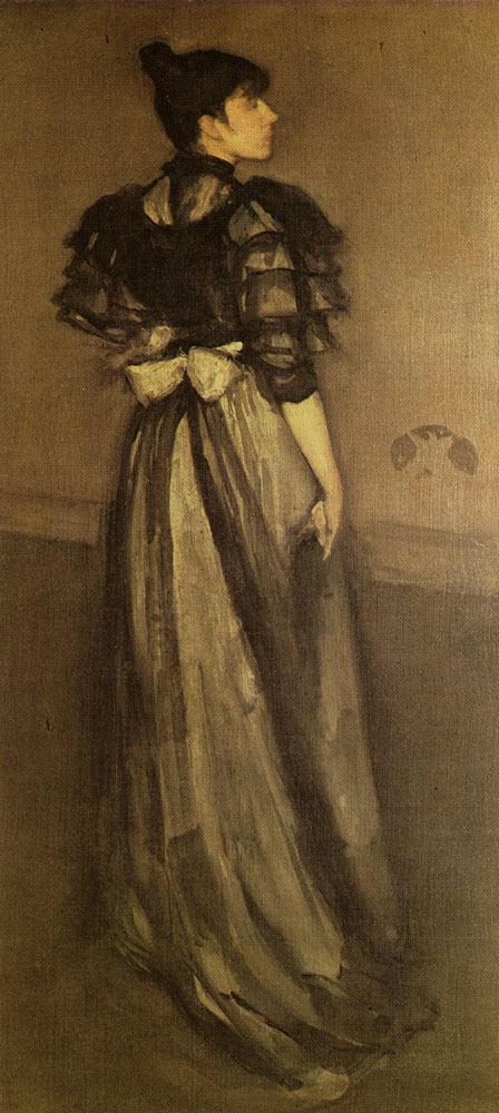 James McNeill Whistler - L'Andalouse, Mother-of-Pearl and Silver