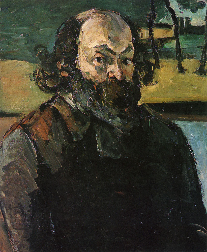 Paul Cézanne - Self-portrait