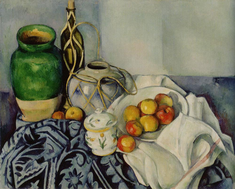 Paul Cézanne - Nature morte avec pommes