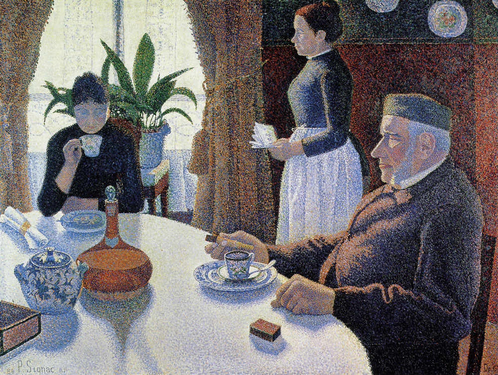 Paul Signac - The Dining Room, Opus 152