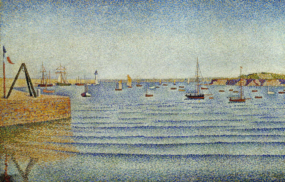 Paul Signac - The Swell, Portieux, Opus 190