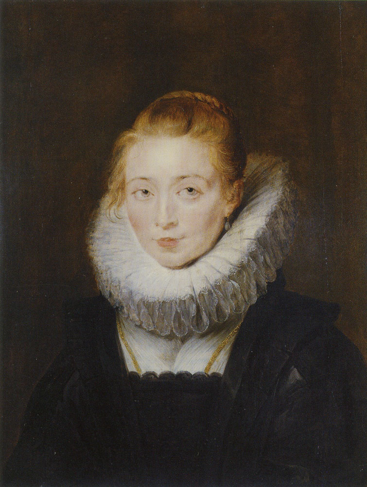Peter Paul Rubens - Lady-in-Waiting to the Infanta Isabella