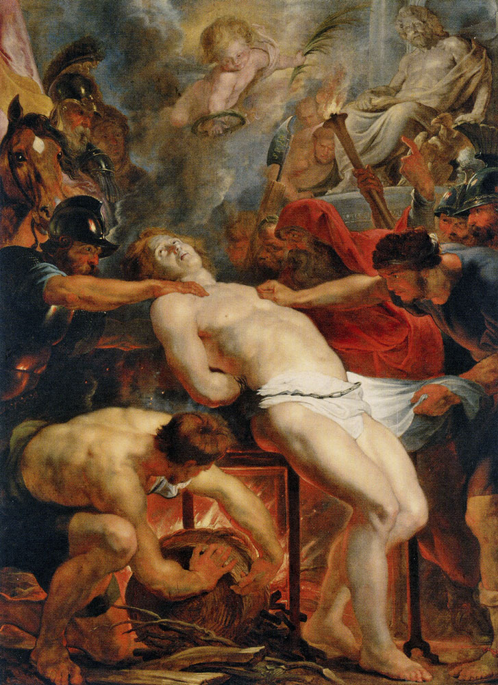 Peter Paul Rubens - The Martyrdom of Saint Lawrence