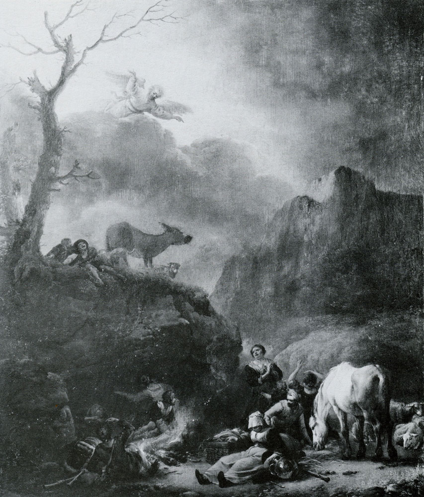 Philips Wouwerman - The Annunciation to the shepherds